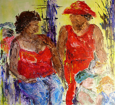 Friends with Attitudfe by Tonya Schultz