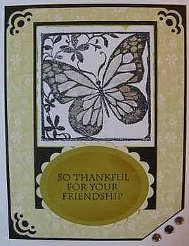 Friendship Note Card by Cheryl Depler
