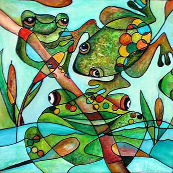 Frog Frolic by Katey Sandy