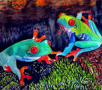 Susan Duxter - Frogs