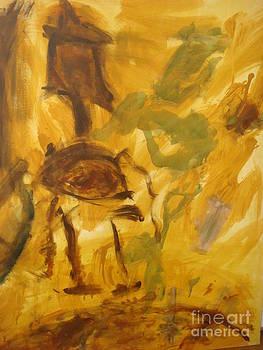 Frolicking Horse  by Fereshteh Stoecklein