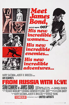 From Russia With Love, Us Poster, 1963 by Everett