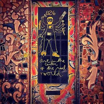 Front Door At The #magicgardens by John Baccile