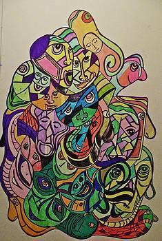 Frontal Cortex by Frank B Shaner