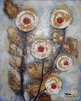Frosen roses by Elena  Constantinescu