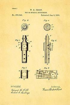 Ian Monk - Frost Kazoo Patent Art 1883