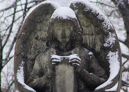 Gothicrow Images - Frosted Stone Angel
