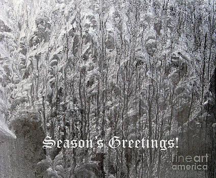Frosty Greetings 01 by Ausra Huntington nee Paulauskaite