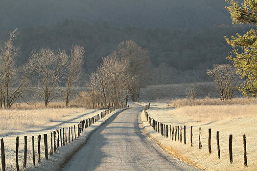 Frosty Start by Durward Henderson