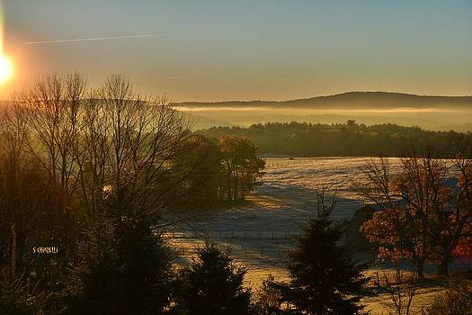 Frosty Sunrise by Steve Chiarelli