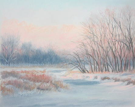Frosty Toes at Catfish Corner by Sherri Anderson