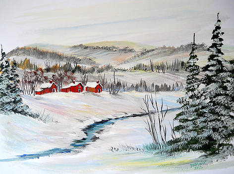 Frozen Creek by Dorothy Maier
