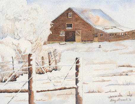 Frozen Farmland by Amy Lewark