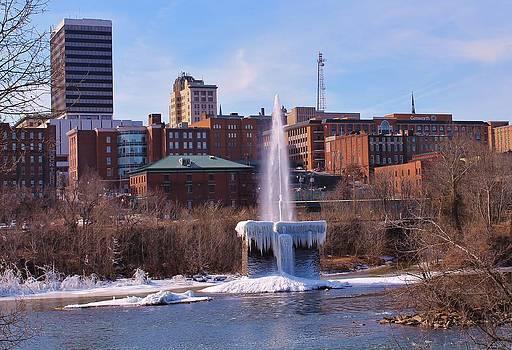 Frozen Fountain by Robert Pennix