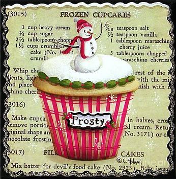 Frozen Frosty Cupcake by Catherine Holman