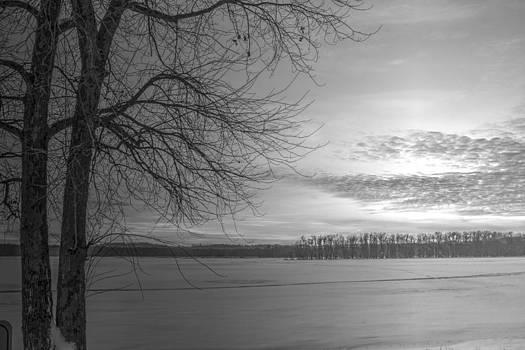 Frozen Mississippi by Richard Jones
