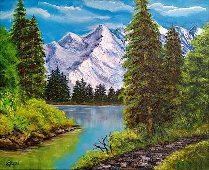 Frozen Mountain 1 by Catherine Jeffrey