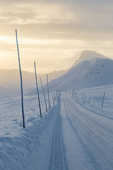 Frozen Mountain Road II by Joe Wigdahl