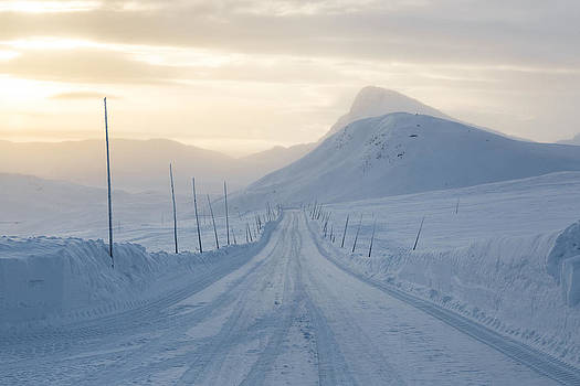 Frozen Mountain Road by Joe Wigdahl