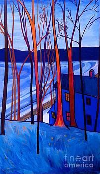 Frozen on Freeman Lake by Debra Bretton Robinson