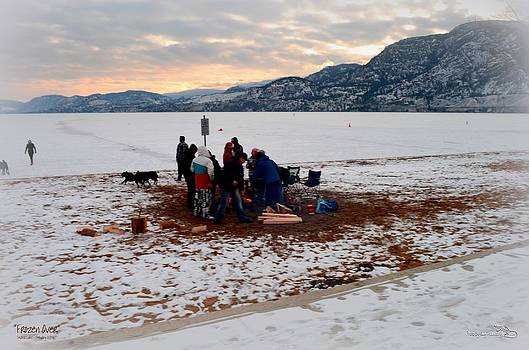Guy Hoffman - Frozen Over - Skaha Lake Penticton