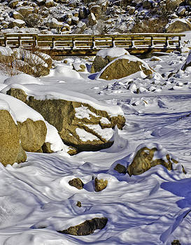 Frozen Roaring River by Tom Wilbert