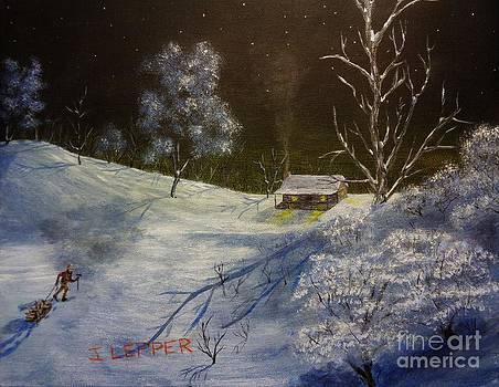 Frozen Serenity by Jack Lepper