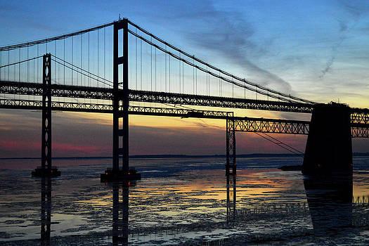 Bill Swartwout Fine Art Photography - Frozen Waters Under the Bay Bridge
