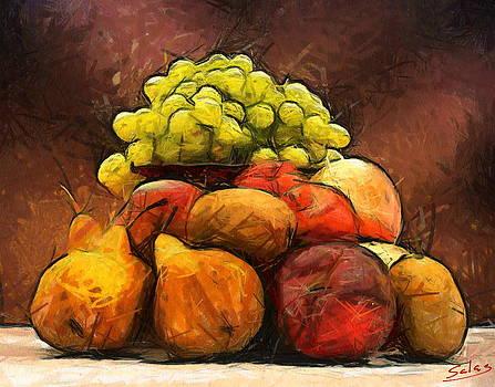 Frugal Fruit by Francisco Sanchez Salas