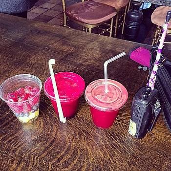 Fruit & Juice. Juice & Fruit. Walkie by Jessica Spring Harmston