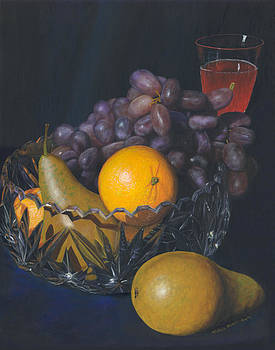 Fruit and Crystal by Michelle Moroz-Chymy