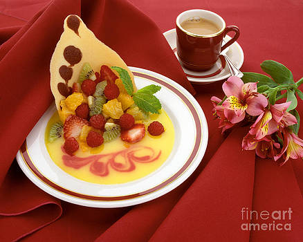 Craig Lovell - Fruit Dessert and Coffee