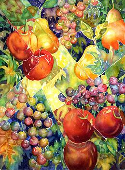 Fruit Fantasy by Ann  Nicholson