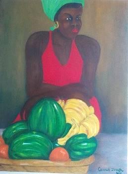 Fruit Lady by Carmel Joseph