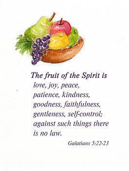 Fruit of the Spirit by Diane Hall