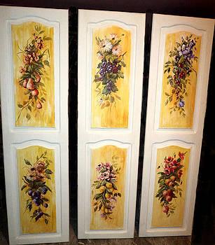 Fruit Panels by Patricia Rachidi