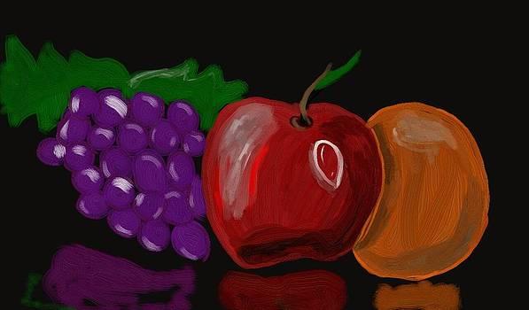 Fruit Platter by Alejandro Guzman