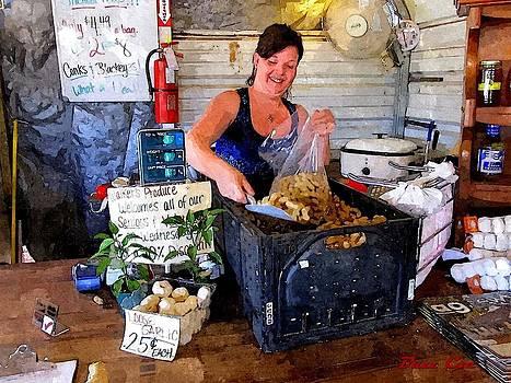 Buzz  Coe - Fruit Stand Cashier I