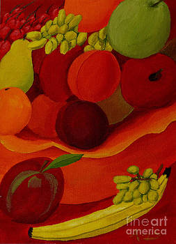 Fruit-Still Life by Anthony Dunphy