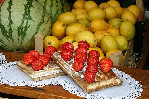 Fruit Waffle by Paula Guy
