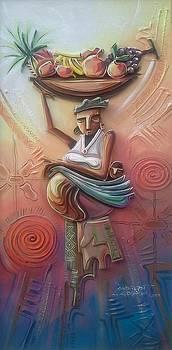 Fruitful Woman by Omidiran Gbolade