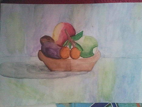 Fruitpiece by Laurie Kanat