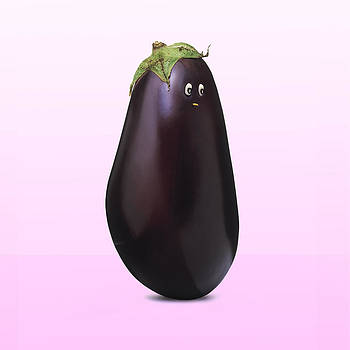 Fruity Veggie Aubergine by Philip Holt