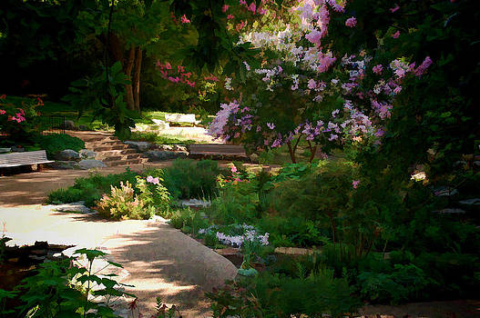 Ft Worth Botanic Garden by Janet Maloy