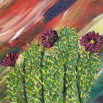Marcia Weller-Wenbert - Fuchsia in Bloom