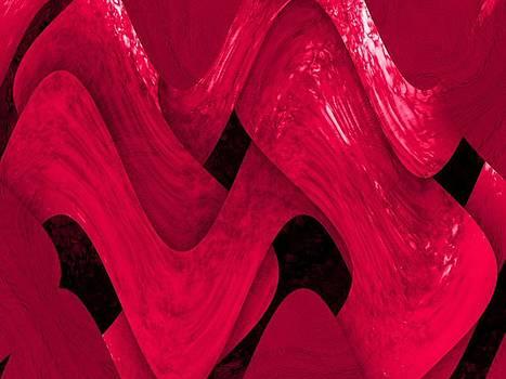 Fuchsia Weave by Elizabeth S Zulauf