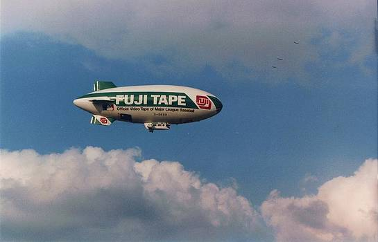 Fuji Blimp by Pat Mchale