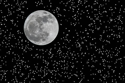 Full Moon and Stars by Frank Feliciano