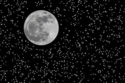Full Moon and Stars by Frank Feliciano