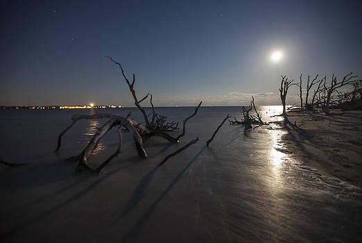 Full Moon - Jekyll Island by Doug McPherson